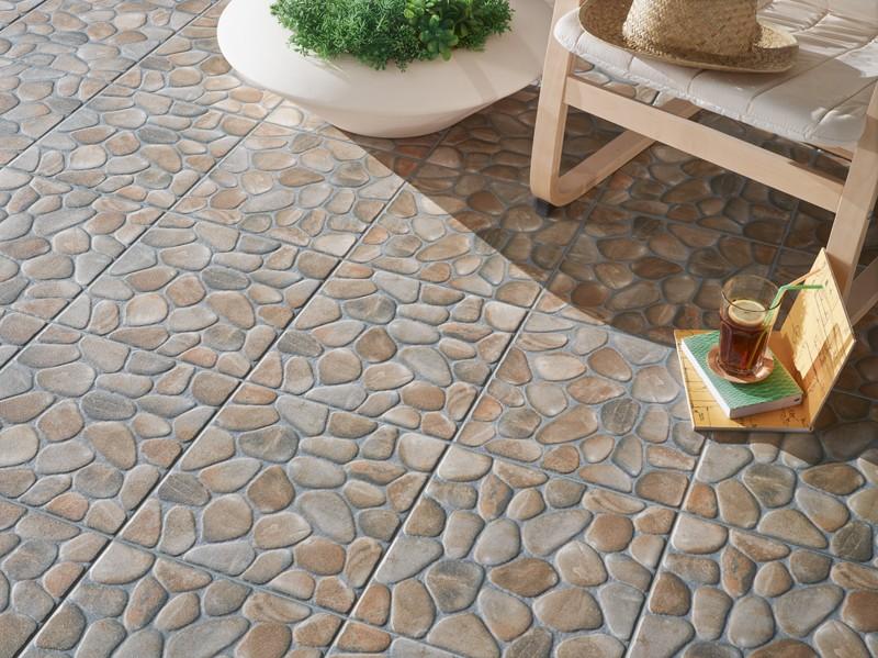 Marvelous Pavimentos R Sticos Toda Una Colecci N De Revigres Via For Pavimento  Ceramico Exterior Barato With Pavimento Exterior Barato.