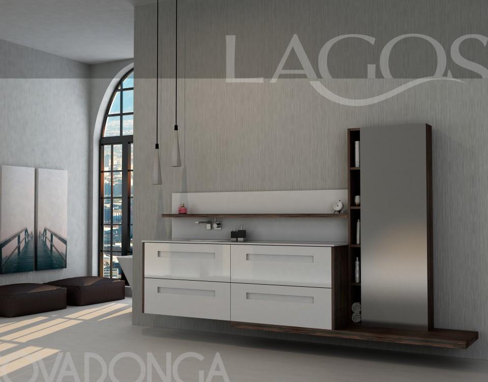 LAGOS, La nueva marca de muebles de baño Gallega con diseños vanguardistas